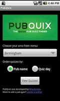 Screenshot of PubQuix