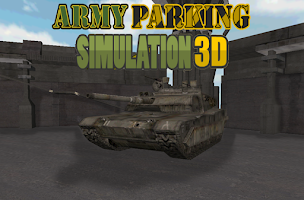Screenshot of army parking simulation 3d