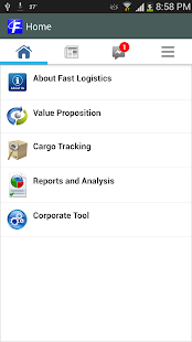 myFastLogistics (Beta) - screenshot