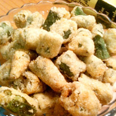 Simplest Fried Okra