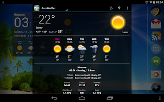 Screenshot of Weather Now Forecast & Widgets