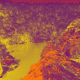 Cachoeira dos Macaquinhos by Jose Ricardo Ribeiro Reis - Nature Up Close Water