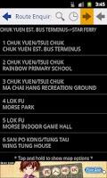 Screenshot of Hong Kong BusInfo NG