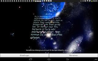 Screenshot of Daily Horoscope Free 3D