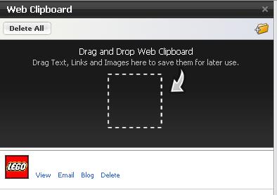 Web Clipboard : Flock