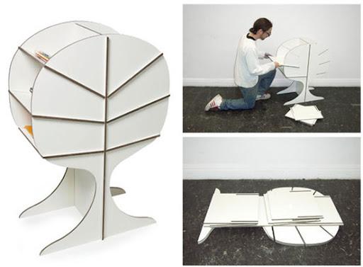 Magazine rack by Fredrik Paulsen