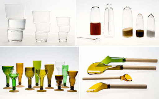 Glassware from Laurence Brabant