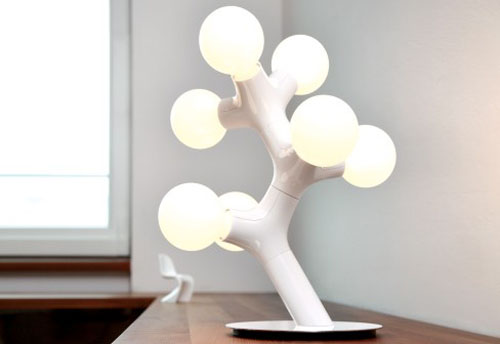 DNA Lamps by Benjamin Hopf & Constantin Wortmann, for Next