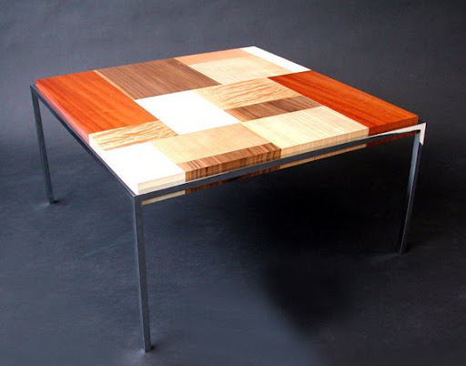Patchwork Table by Colin Schleeh