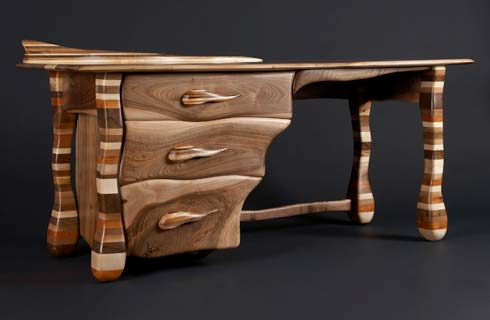 Rainbow Desk by Allan Lake