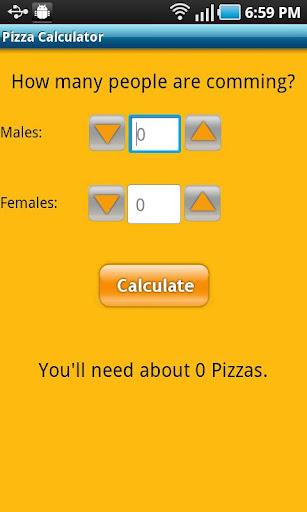 Pizza Calculator