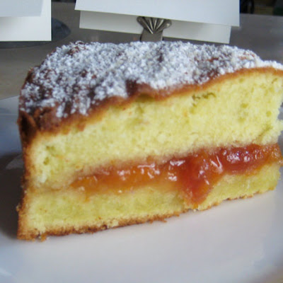 Karen DeMasco's Almond Cake with Apricot Preserves