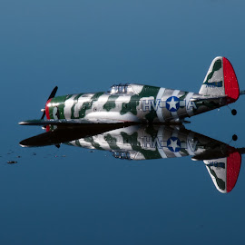 RC Plane on water by Allan Rozanic - Novices Only Objects & Still Life ( plane, rc )