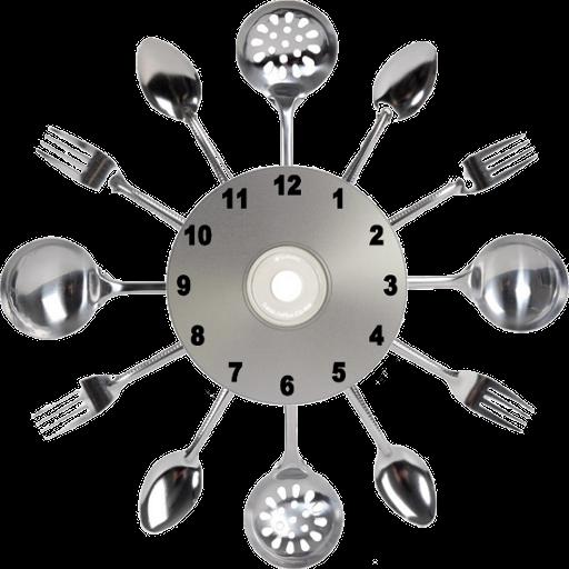 餐具時鐘 個人化 App LOGO-APP試玩