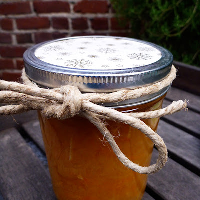Orange-Grapefruit-Ginger Marmalade