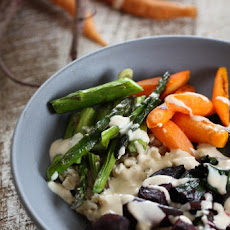 Spring Veggie Bowls with Lemon Tahini Dressing
