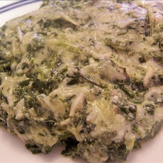 Creamy Swiss Spinach Bake