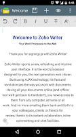 Screenshot of Zoho Docs