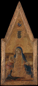 RIJKS: Bartolommeo Bulgarini: Madonna of Humility 1353