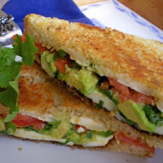 Avocado-Tomato Grilled Cheese Sandwich
