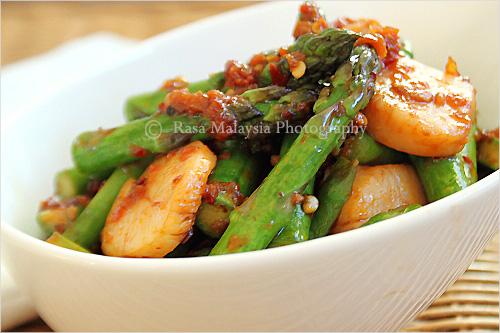 Sambal Asparagus Recipe | Yummly