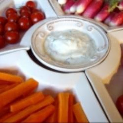 Yogurt Dip With Herbs