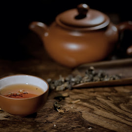 Green Tea by Max Bowen - Food & Drink Alcohol & Drinks