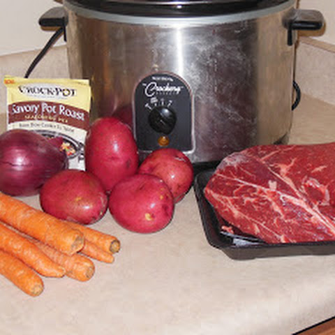 #CrockPotMixes Review and Pot Roast