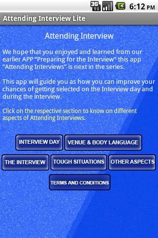 Attending Interviews - Lite