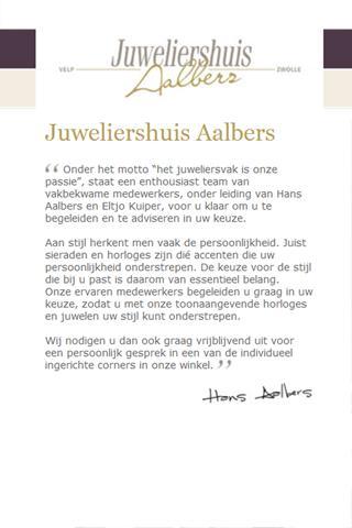 Juweliershuis Aalbers