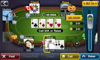 Screenshot of Texas HoldEm Poker Deluxe beta