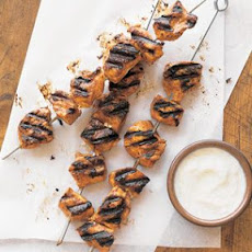 Chicken Kabobs with Tandoori Spices