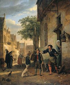 RIJKS: Ignatius Josephus Van Regemorter: painting 1828