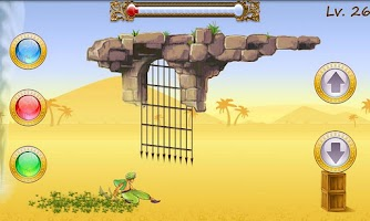 Screenshot of Sandstorm Rush Lite