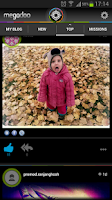 Screenshot of Megodoo - photo & video blog