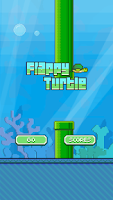 Screenshot of Flappy Turtle