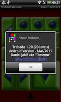 Screenshot of Trabado Donate