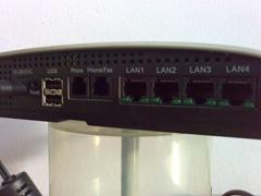 Erisson W25 Fixed Wireless Terminal - back