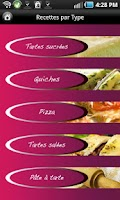 Screenshot of iCuisine Tartes et Quiches