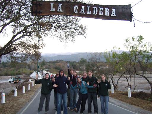 La Caldera team
