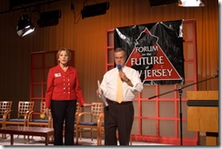 Trenton, New Jersey, USA - Wednesday October 15, 2008: Leadership New Jersey, the public policy seminar organization, held its 2008 Forum on the Future of New Jersey in the studios of New Jersey Network. 