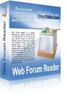 Web Forum Reader - программа для чтения форумов