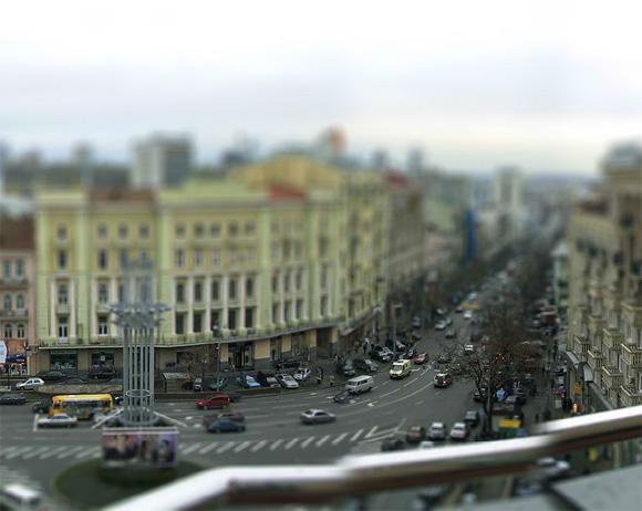 площать в Киеве - миниатюрное изображение