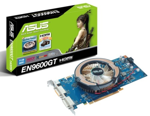 Видеокарта ASUS Geforce 9600GT 512Mb