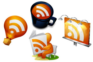 красивые RSS иконки для блога