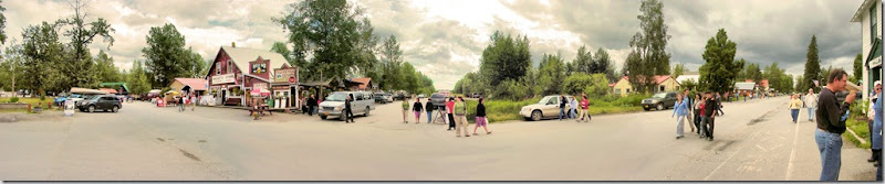 Talkeetna Main Street Panorama