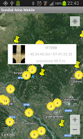 Screenshot of Sundial Atlas Mobile
