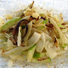 Apple, Fennel Salad with reduced Apple Cider Dressing