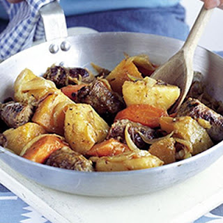 Sausage & Root Veg Stovie