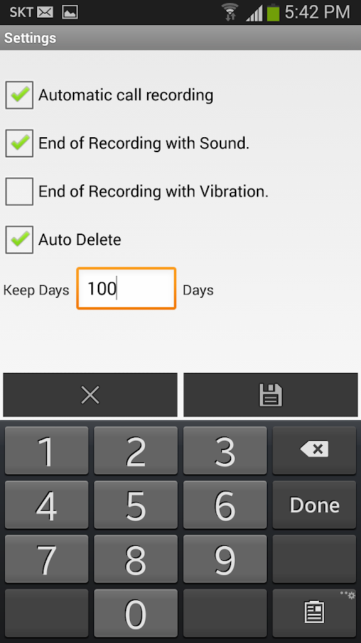 Automatic Call Recorder - PRO Screenshot 3